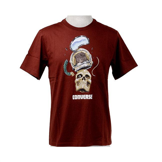 Converse Skull Helmet Tee T-Shirt