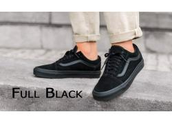"""Giày Vans full đen – """"Vũ khí mạnh nhất"""" tạo sự hoàn hảo cho mọi outfit"""