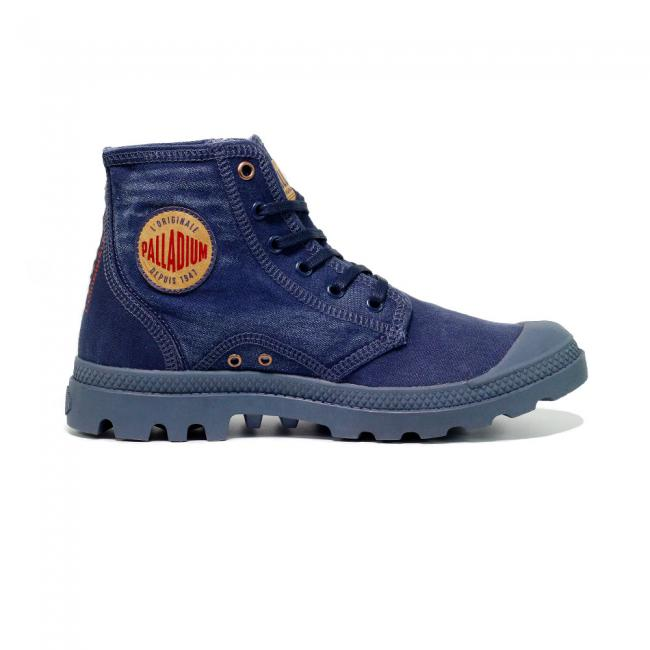 Palladium Boots Hi Denim Blue