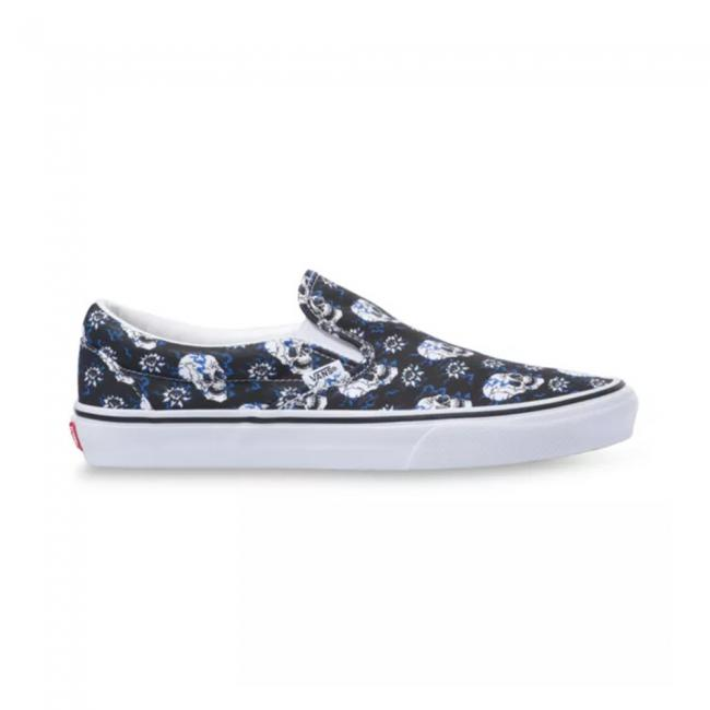 Vans UA Classic Slip-On Flash Skulls