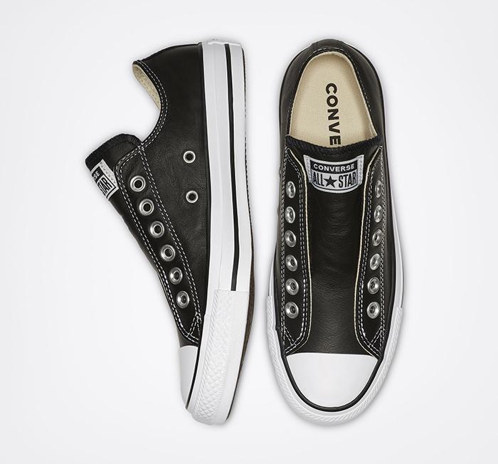 Chuck Taylor All Star Leather Slip - Chill hơn với những gam màu trầm cổ điển