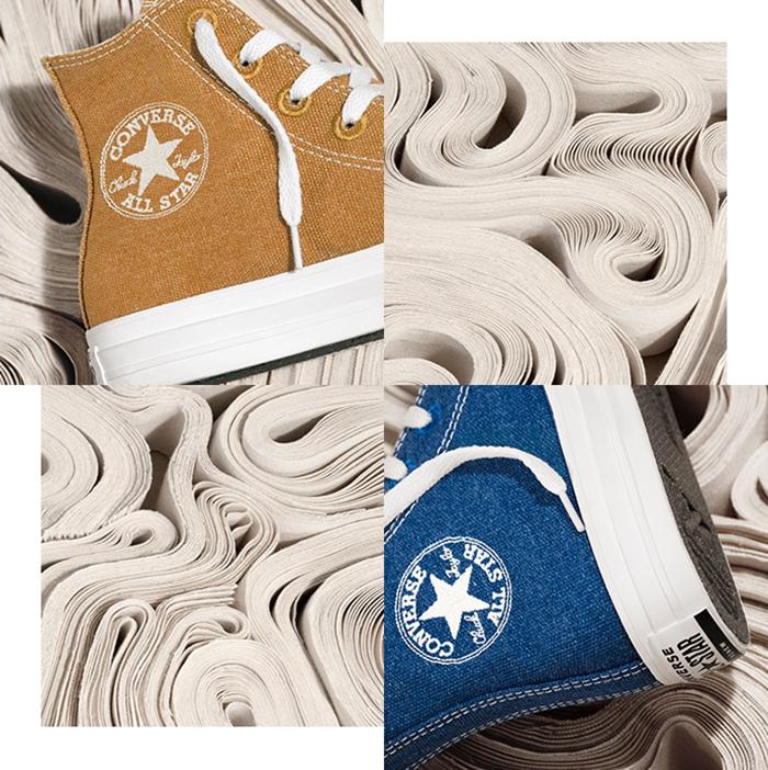 Tôn vinh chủ nghĩa sống xanh và hạn chế rác thải cùng đôi giày Converse Renew Hi Top