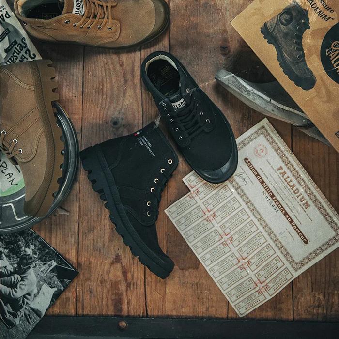 Giày cao cổ Palladium - giúp bạn tận hưởng trọn vẹn những chuyến đi
