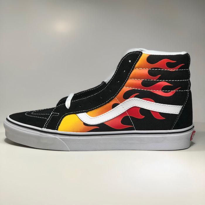 """Vans Flame nổi như lửa trên nền graphic """"Flame"""""""