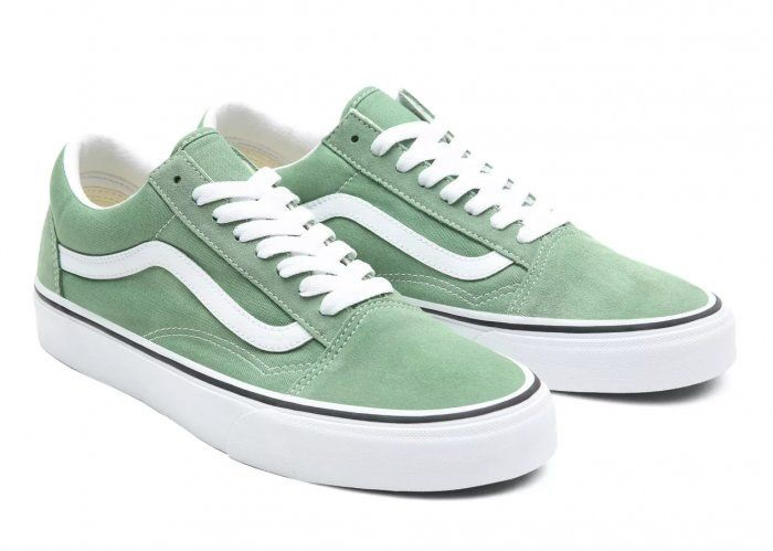Chuyển đổi xu hướng với phối màu đơn sắc của Vans Color Theory Shale Green