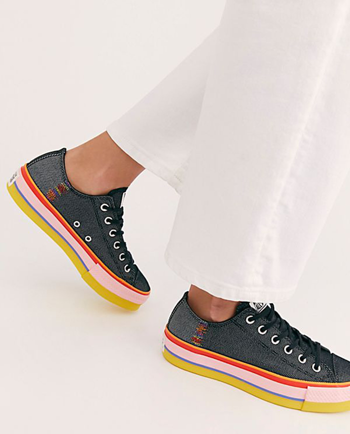 Chuck Taylor All Star Slip Rainbow - Vũ điệu rực rỡ của cầu vồng