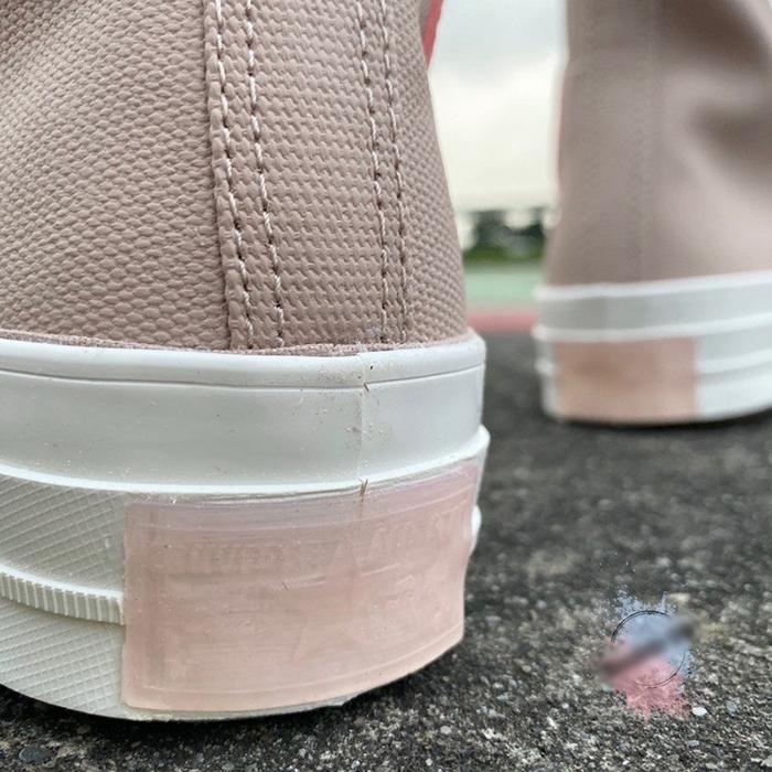 Khám phá các chi tiết Translucent vô cùng độc đáo trên mẫu giày Converse Black Ice Chuck 70