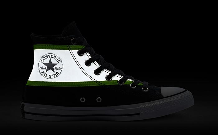 Thiết kế mới lạ và hiện đại của đôi giày Converse Chuck Taylor All Star Hi-Vis