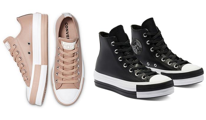 Thời trang hơn cùng mẫu giày Converse Double Stack Lift đầy sức sống