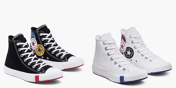 Converse Logo Play chất lừ với thiết kế phủ đầy logo mang tính biểu tượng