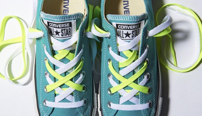 Dây giày Converse thay đổi diện mạo item của bạn chỉ trong tích tắc