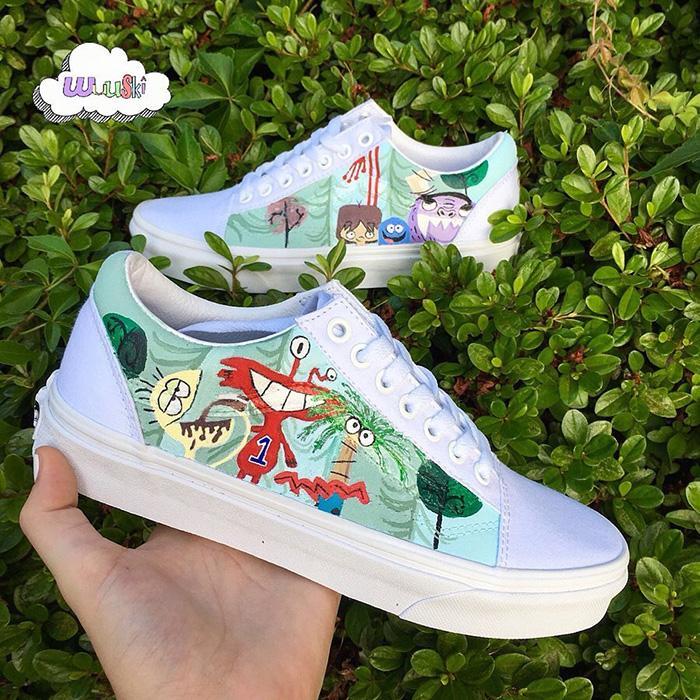 Tham khảo ngay một vài mẫu giày Vans Custom đẹp không lối thoát