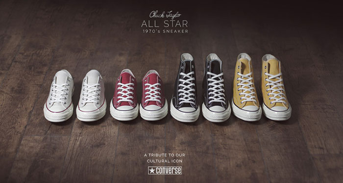 Converse thương hiệu giày thể thao có lịch sử phát triển thú vị!