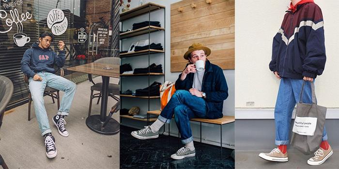 Converse x Quần Jeans phong cách thời trang cho giới trẻ năng động