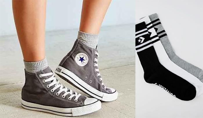 Cách chọn các kiểu vớ mang giày Converse để outfit sành điệu hơn
