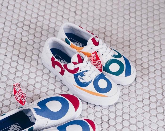 Vũ điệu sắc màu trên bộ sưu tập mới mang tên Vans Deck Club 66