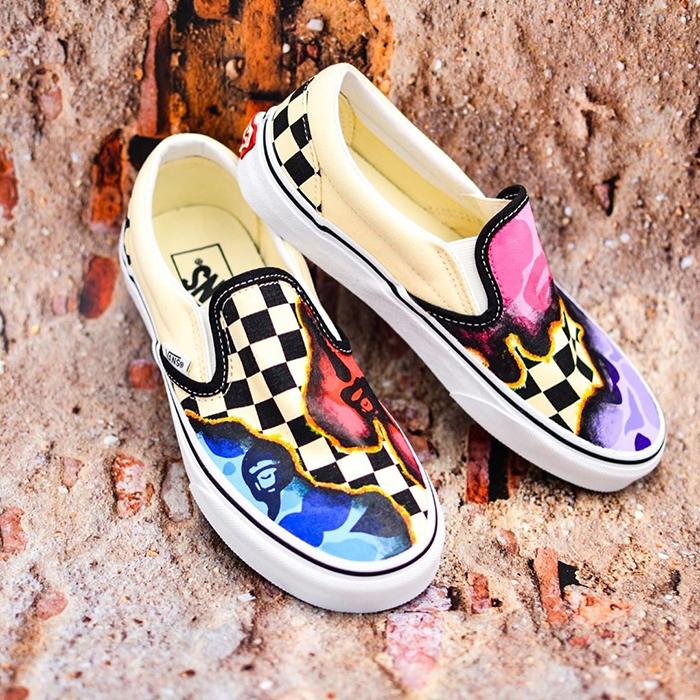 Mục sở thị những mẫu giày Vans Slip-On Custom độc nhất vô nhị