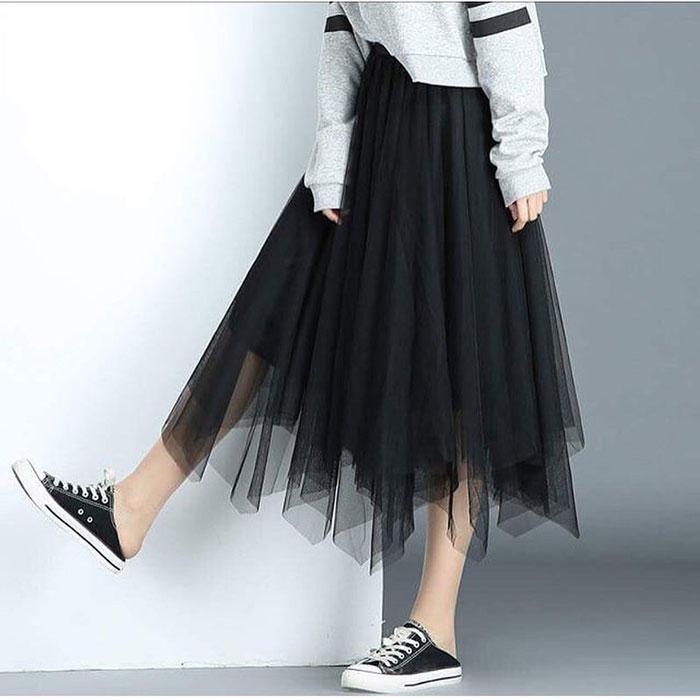 Converse x Váy – Bộ đôi cực ấn tượng bạn không thể bỏ qua!