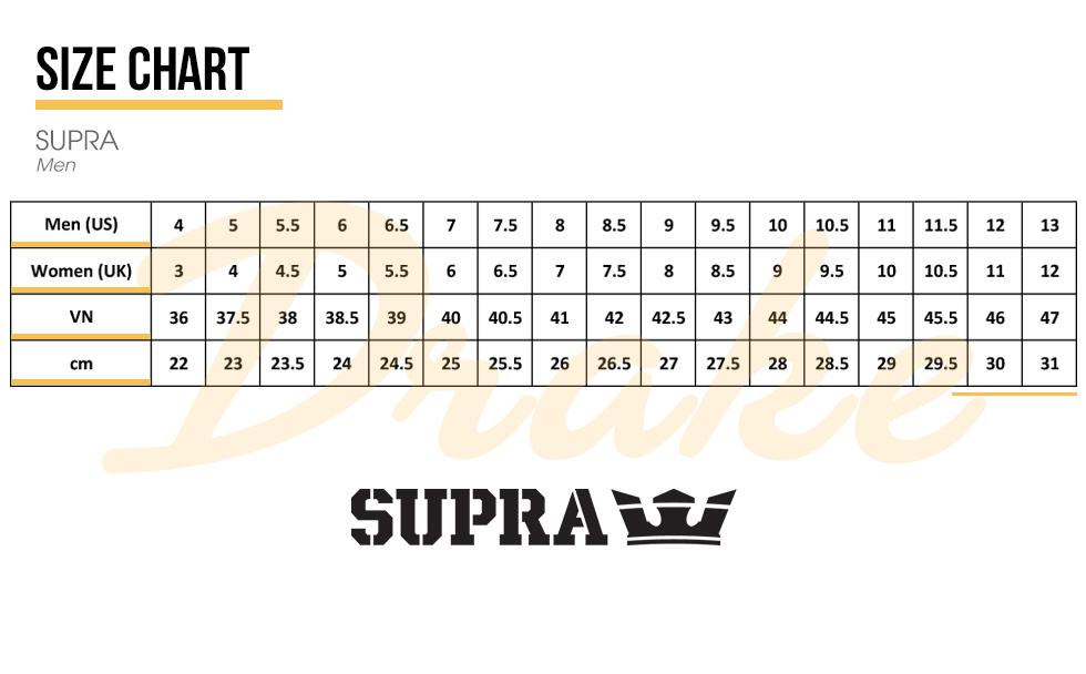 6b1f614dcc9d ... trở thành một cửa hàng chuyên phân phối các dòng SUPRA chính hãng với  nhiều mẫu mã đa dạng cho giới trẻ yêu thích những phong cách MỚI LẠ - ĐỘC  ĐÁO.