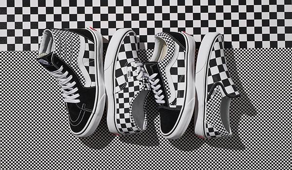 Cơn lốc Checkerboard trong những thiết kế của Vans